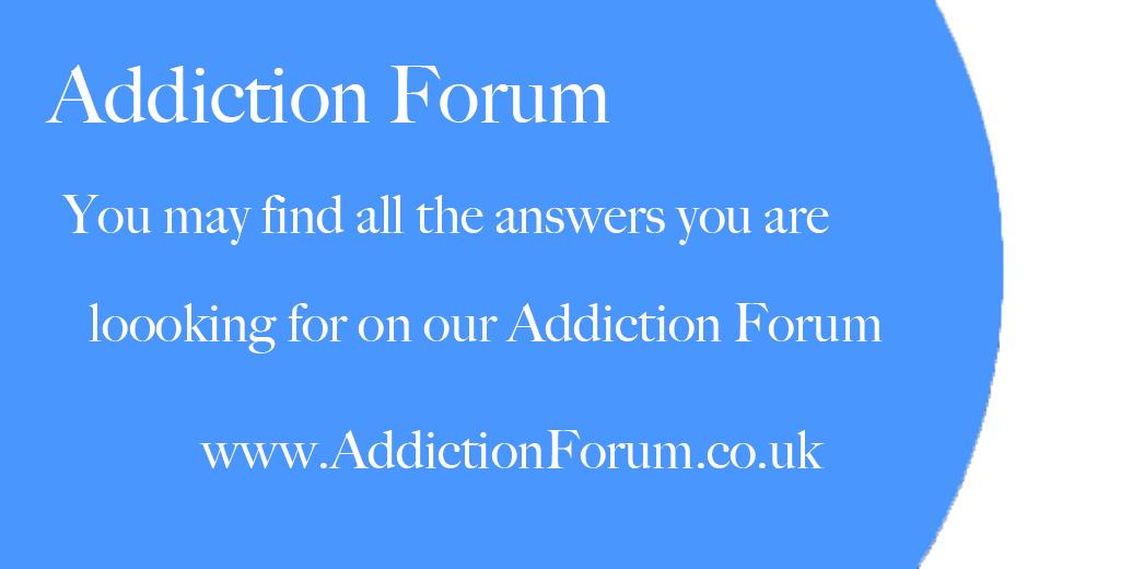 Residential rehab addiction forum