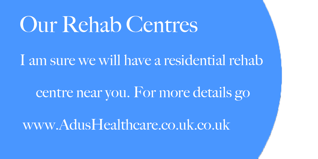Residential rehab centres